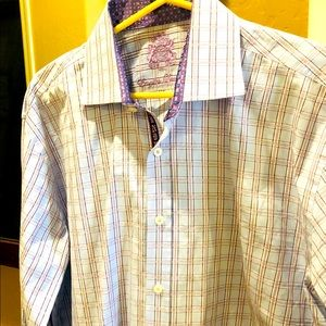 English Laundry 16-1/2 34/35 Button Up Shirt